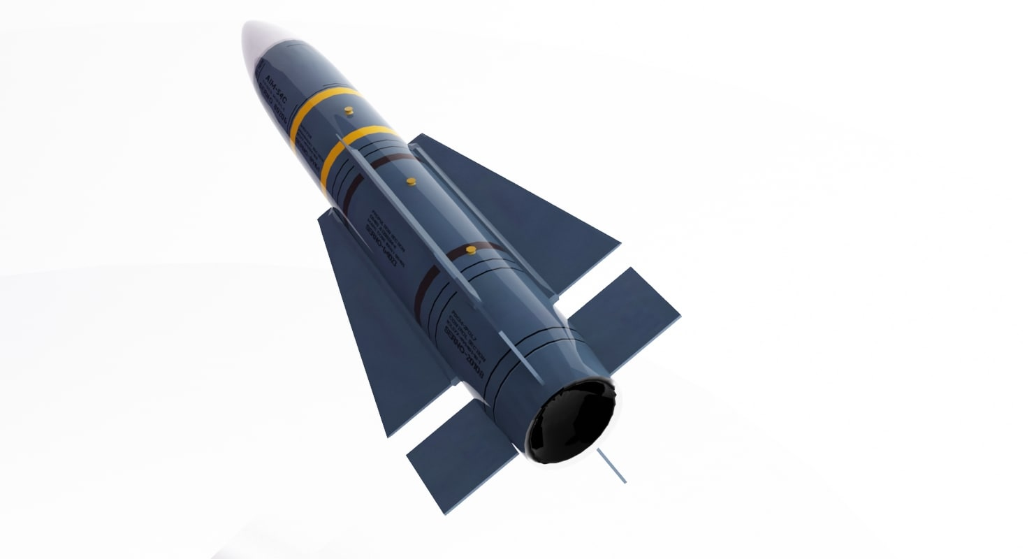 AIM-54 C Phoenix 3D model
