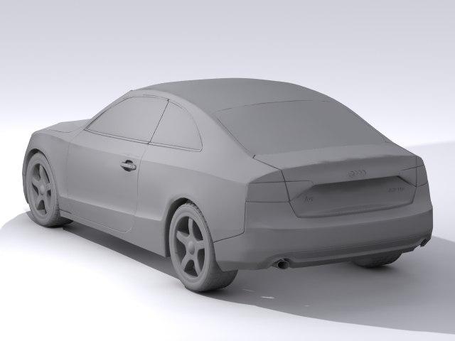 Audi a5 3D model
