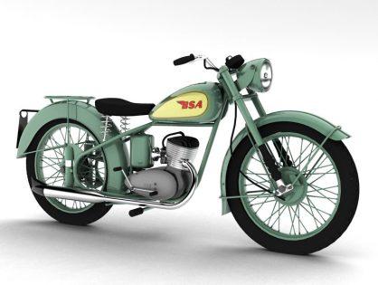 BSA Bantam D1 1948