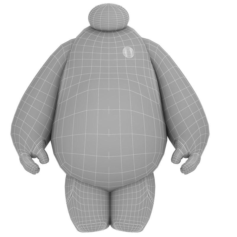 Baymax 3D model
