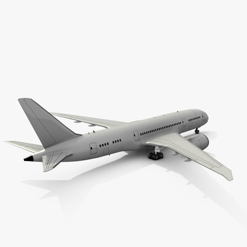 Boeing 787-8 3D model