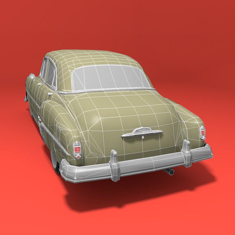 Chevrolet Styleline Deluxe 3D model