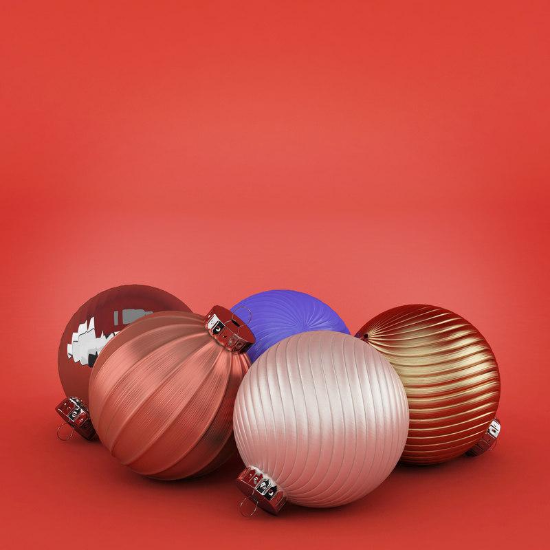 Christmas Toys 3D model
