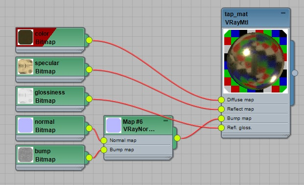 Classic Tap 3D model