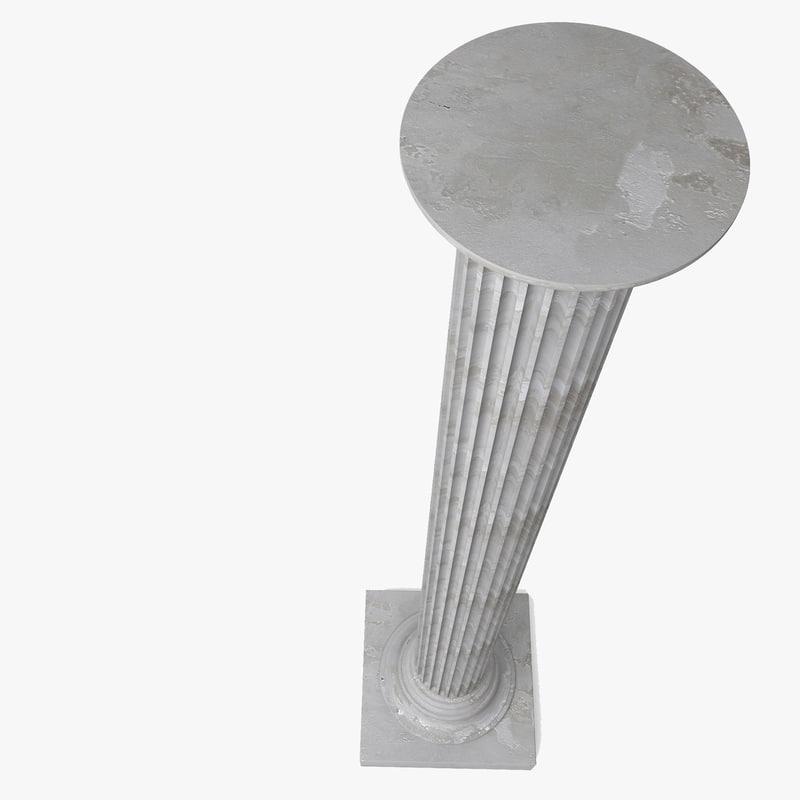 Concrete Column 3D model