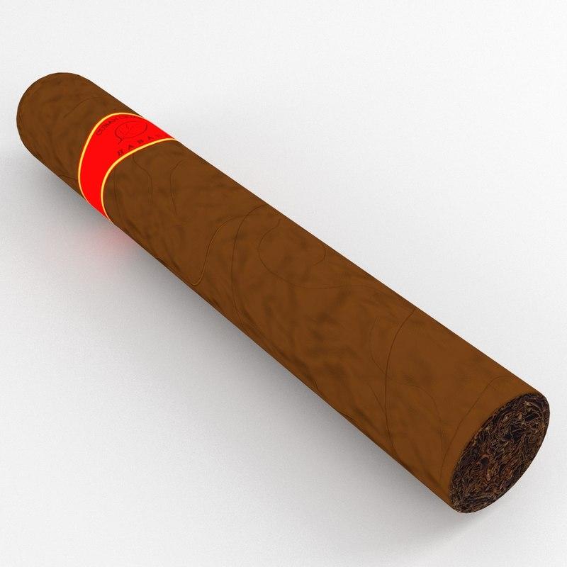Cuban Cigar 3D model