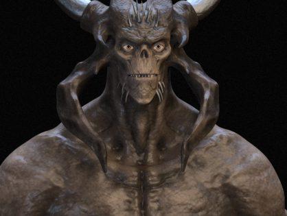 Demon Rigged
