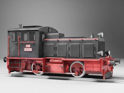 Diesel Locomotive Train LDM-12