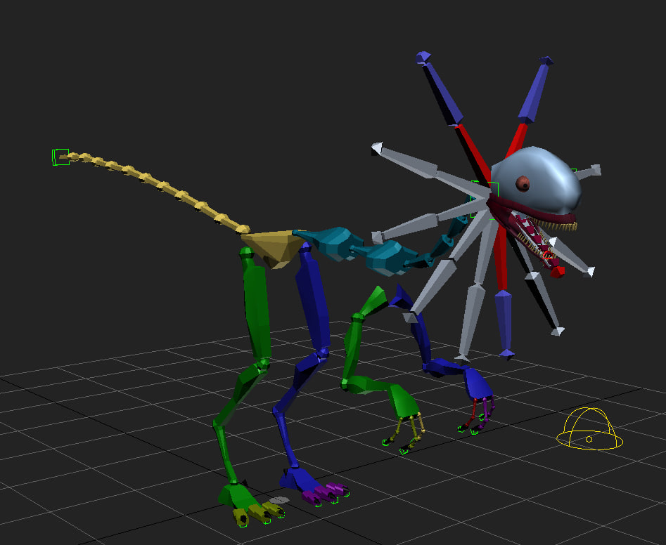 Dilophosaurus 3D model