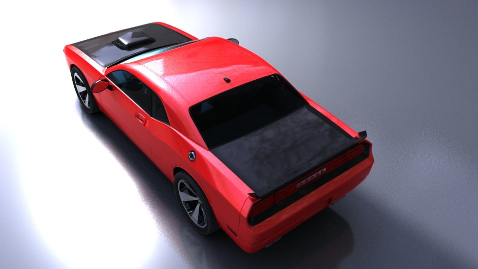 Dodge Challenger SRT10 3D model