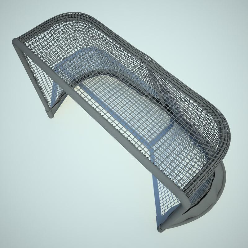 Hockey Gates 3D model