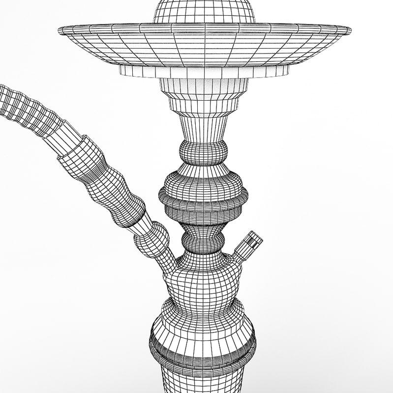 Hookah 3D model