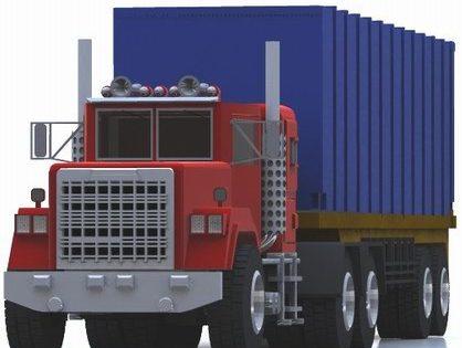 Industrial Semi Truck