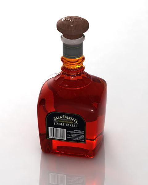 Jack Daniel 3D model