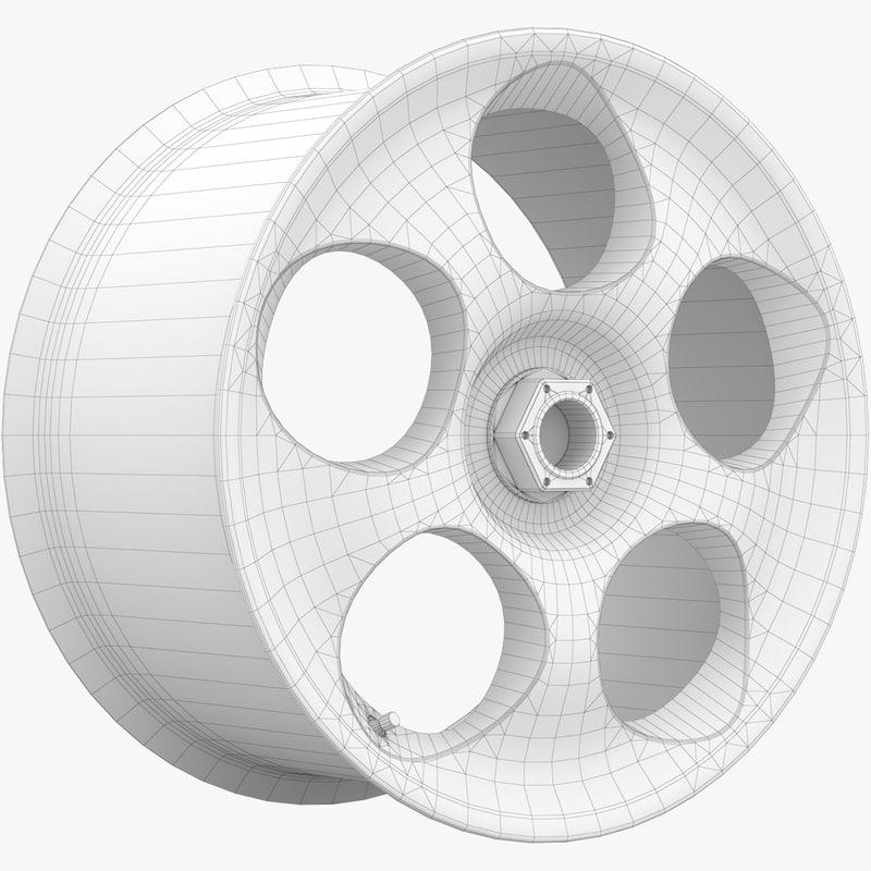 Koenigsegg CCX Rim 3D model