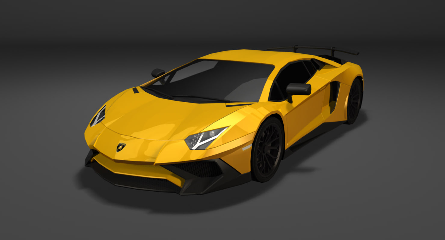 Lamborghini Aventador LP 750-4 Superveloce 3D model