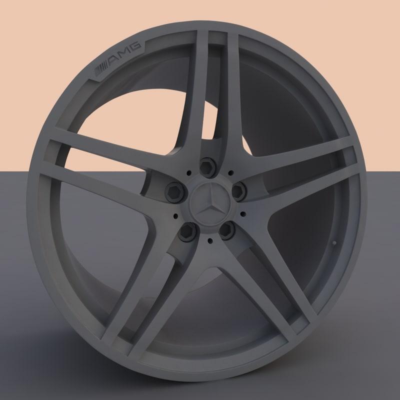 Mercedes AMG Rim 3D model