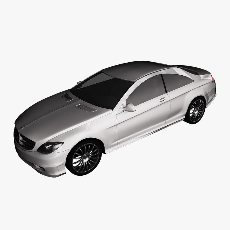 Mercedes-Benz CL600 2007 3D model