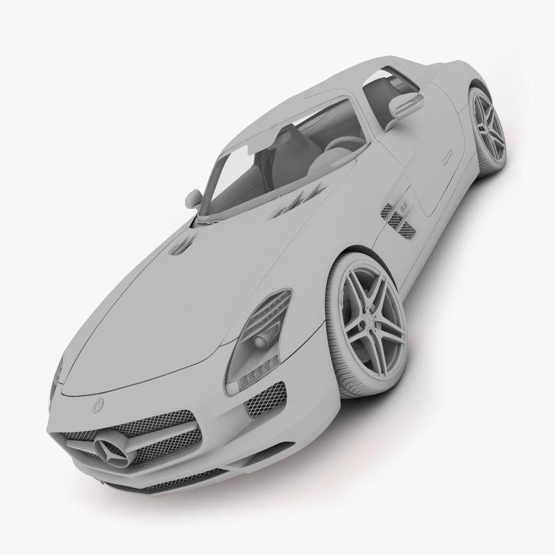 Mercedes Benz SLS AMG 2011 3D model