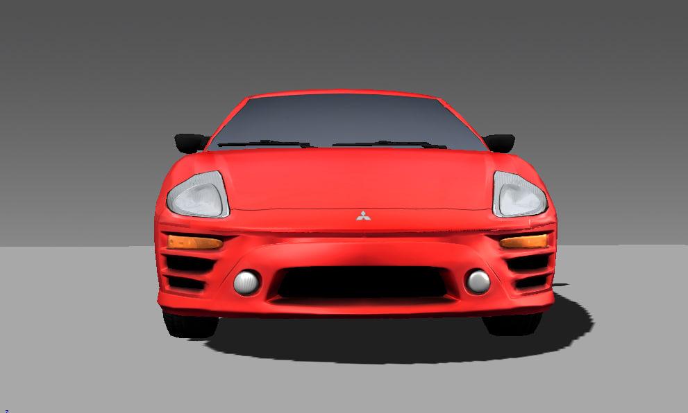 Mitsubishi Eclipse 3D model