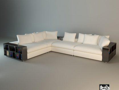 Modern Big Liveroom Sofa