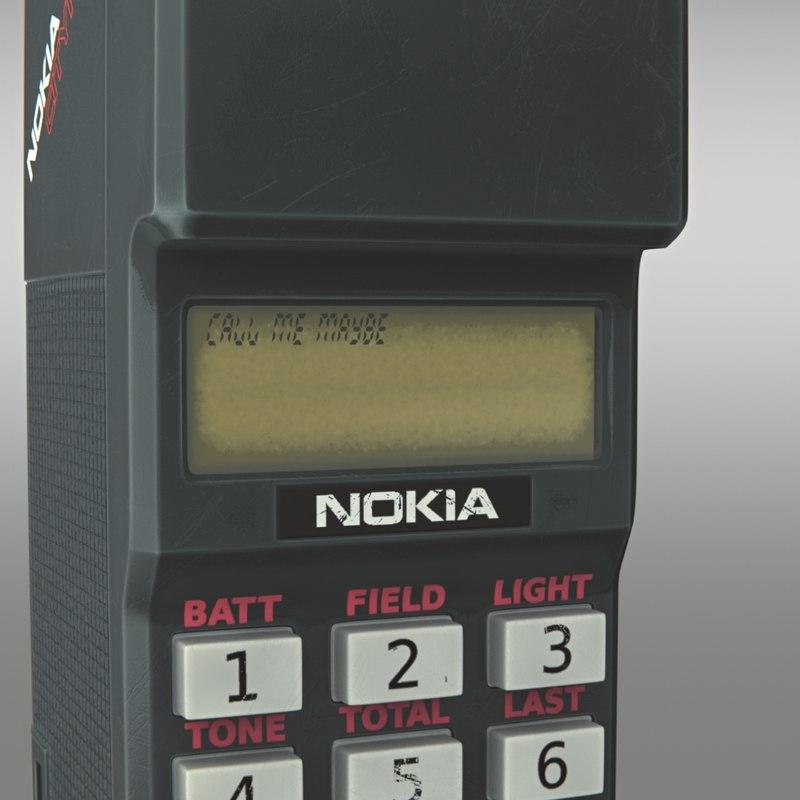 Nokia Cityman 3D model