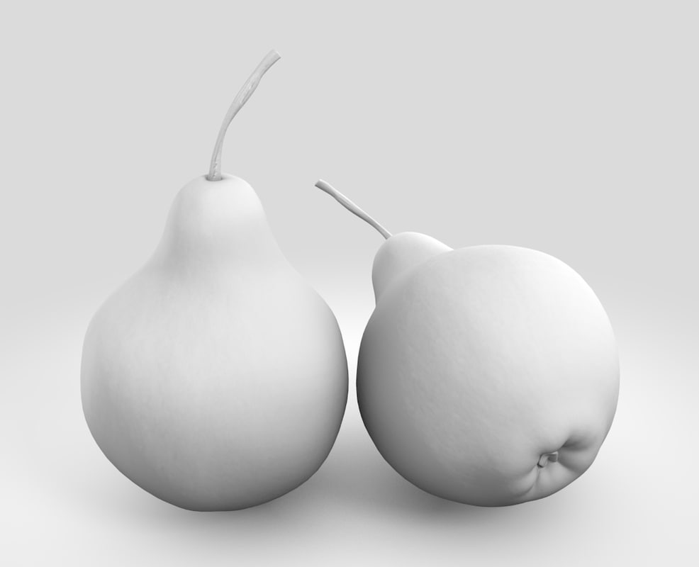 Pear 3D model