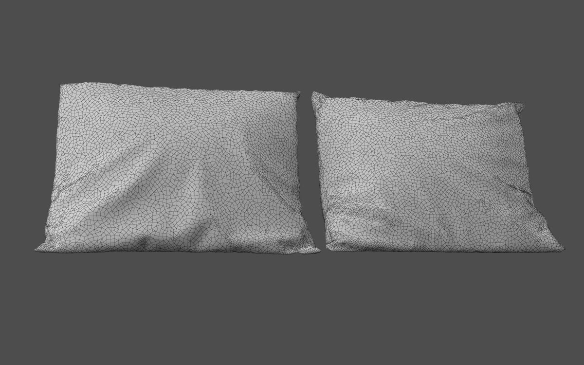 Pillows 3D model