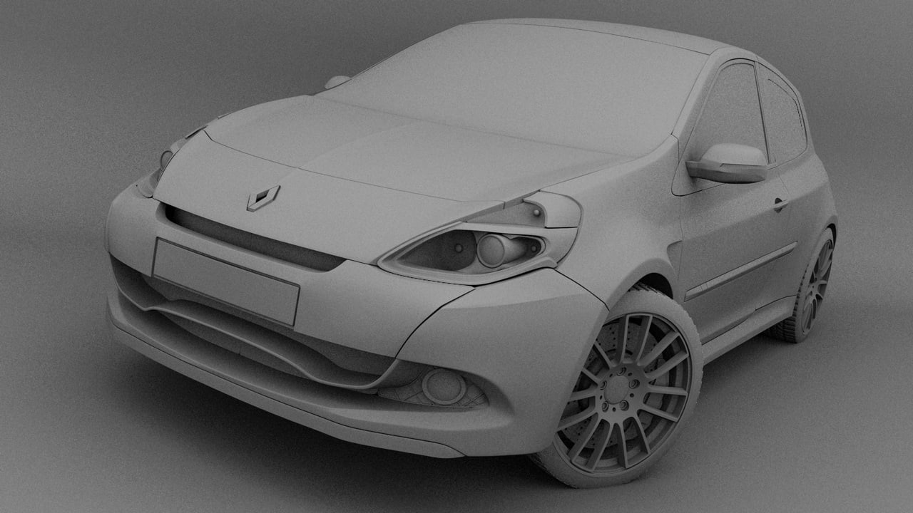 Renault Clio Sport 3D model