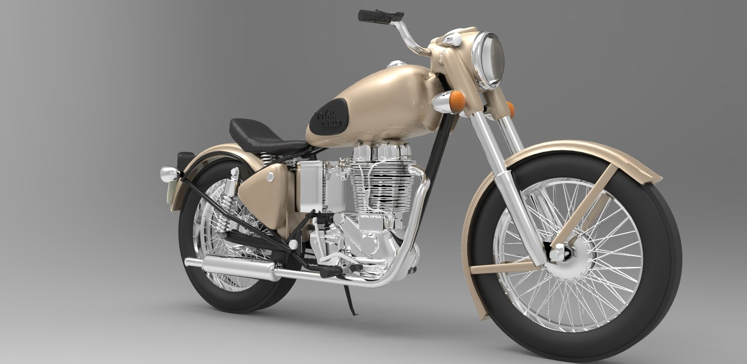 Royal Enfield Classic 350 3D model