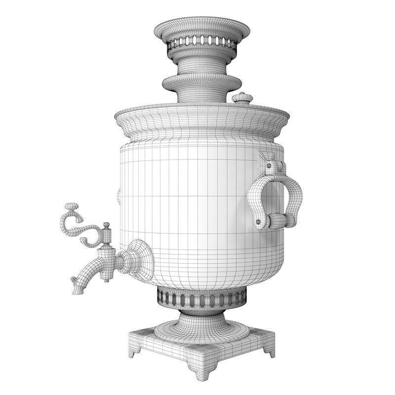 Samovar 3D model