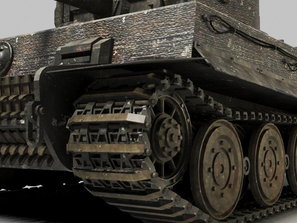 Tiger Tank 3D model
