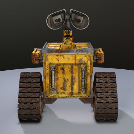wall e 3d model free download