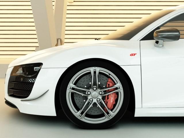 Audi R8 GT 3D model