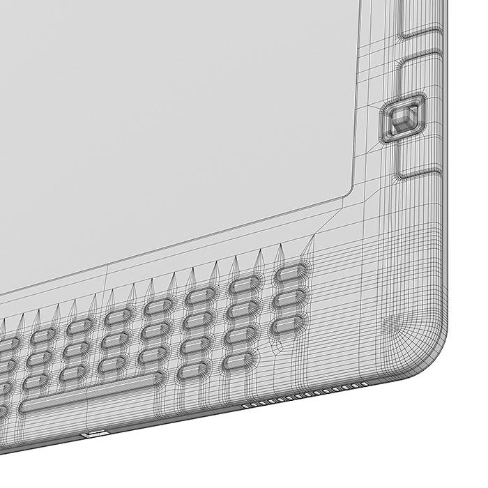 Amazon Kindle ebook 3D model
