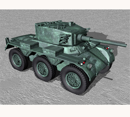 Amoured Tank 3D model
