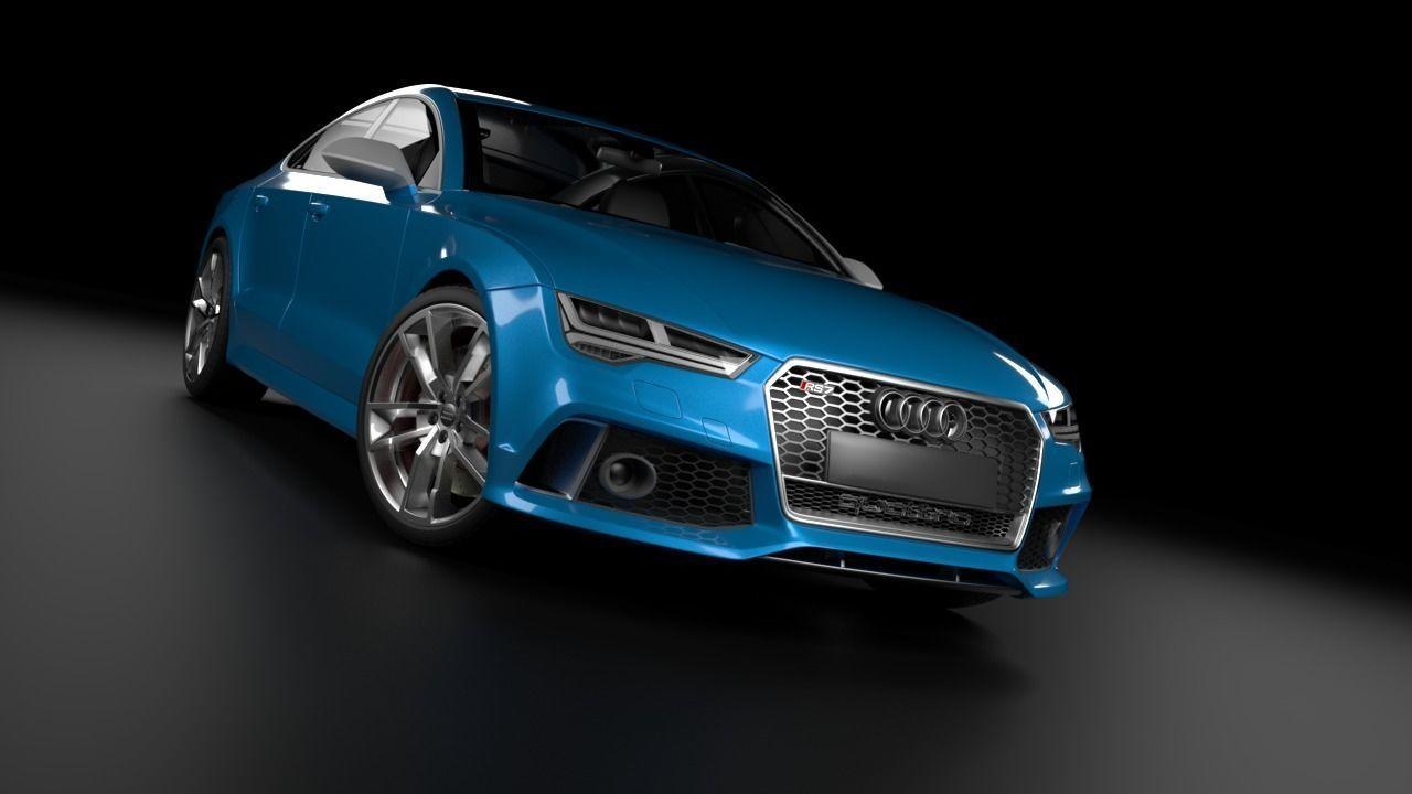 Audi RS7 3D model