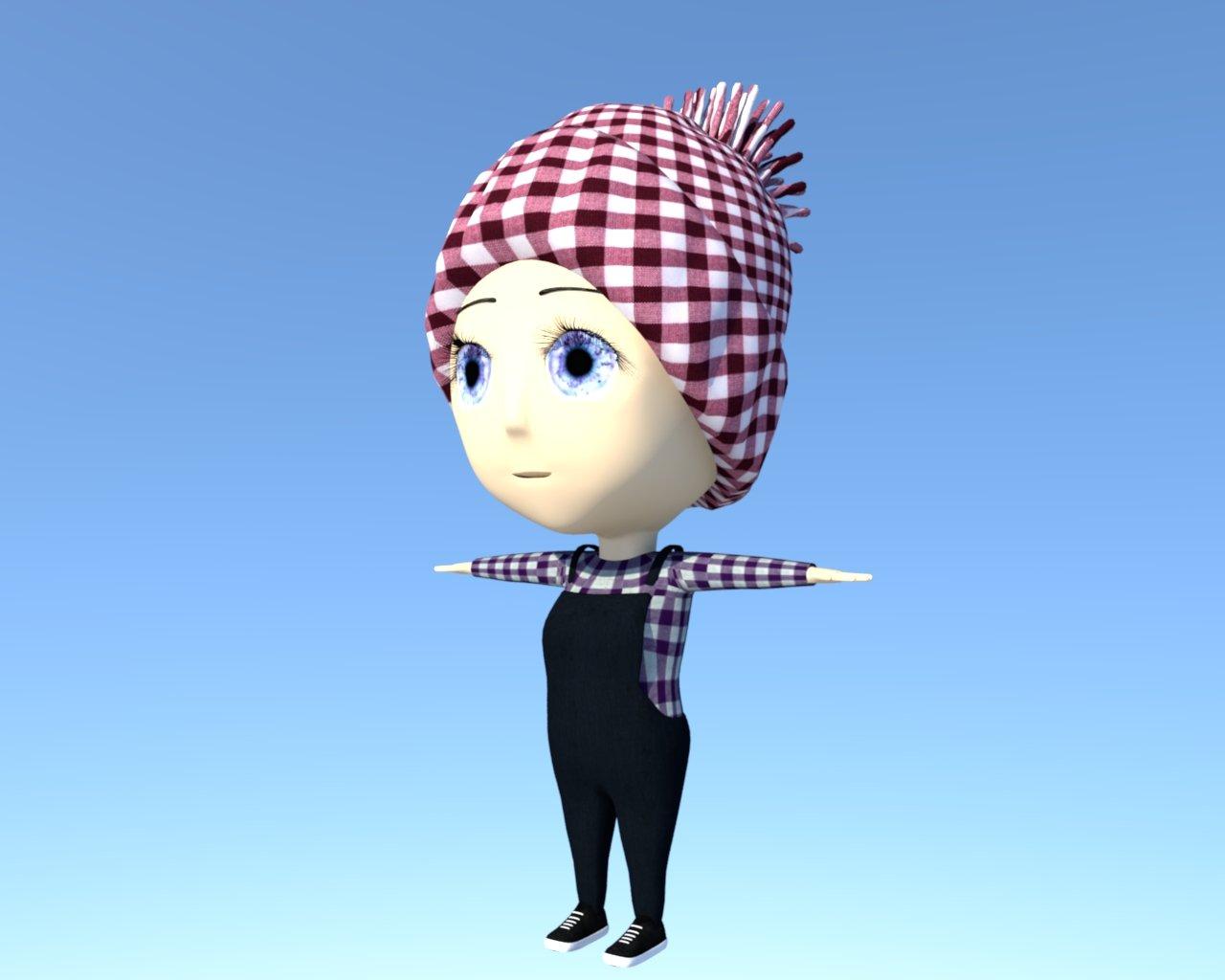 Beik 3D model