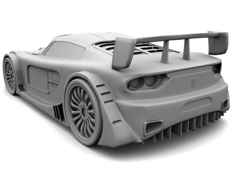 Bruttus 7-XR 3D model