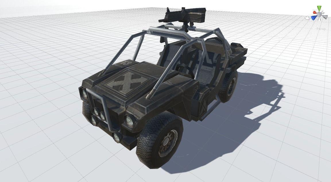 Combat ATV 3D model