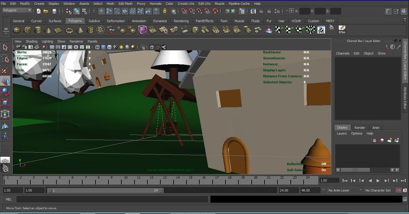Environment 3D model
