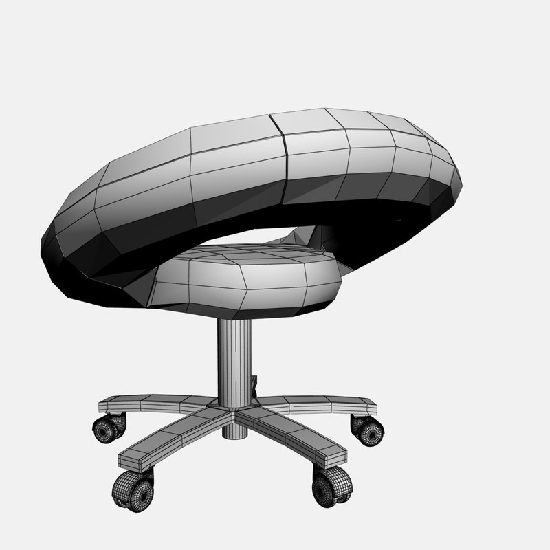 Galaxy chair 3D model