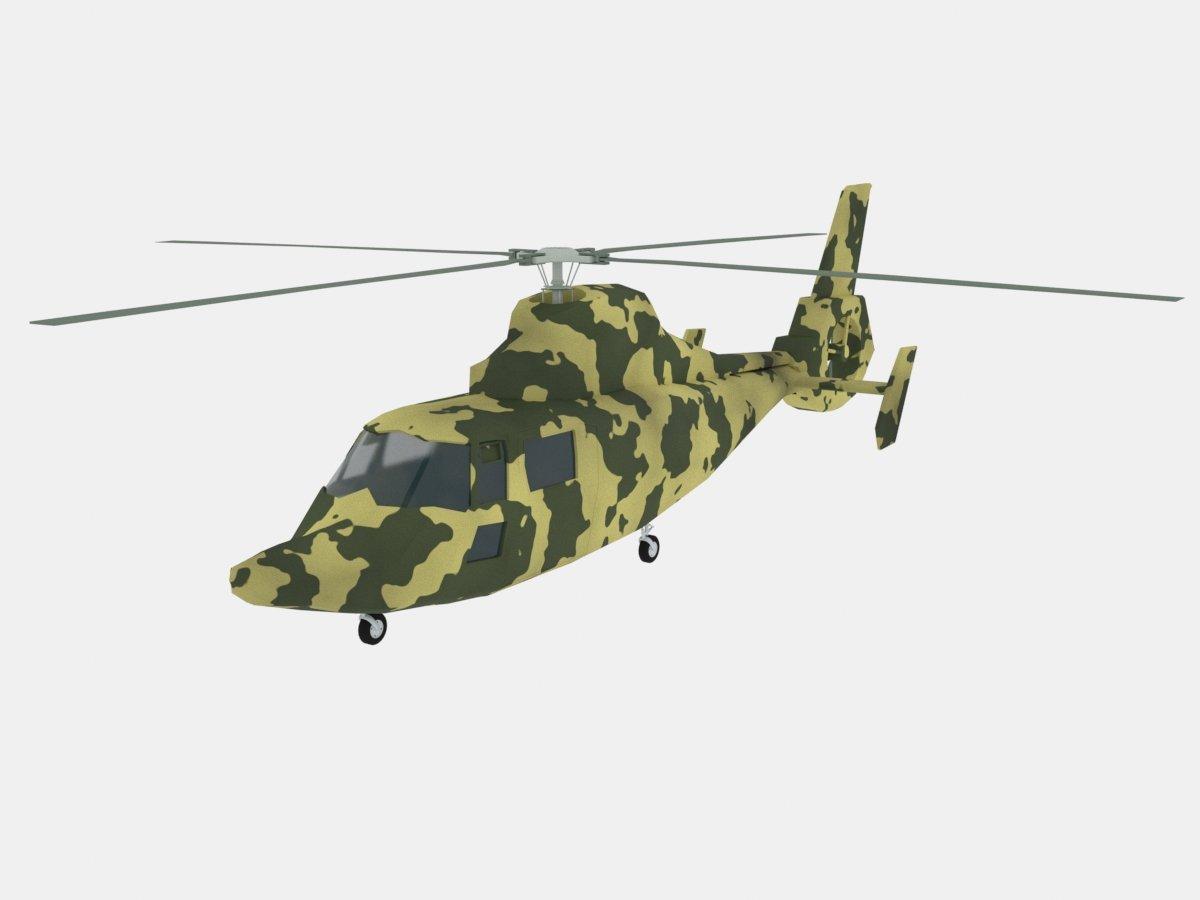 Helicopter Z-9 3D model