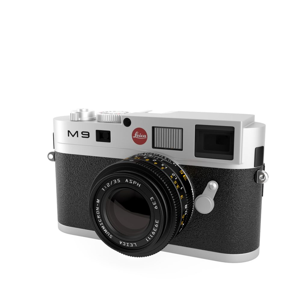 Leica M9 Digital Camera 3D model