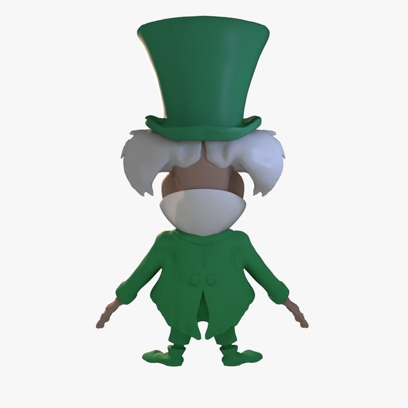 Mad Hatter 3D model