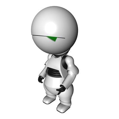 Marvin Demo 3D model