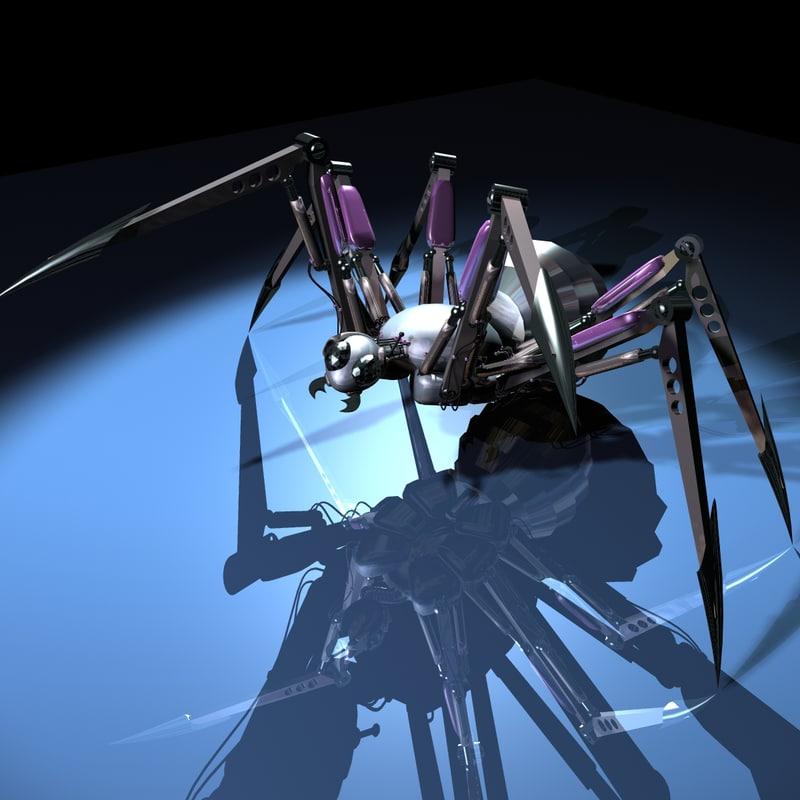 Mecha Spider 3D model