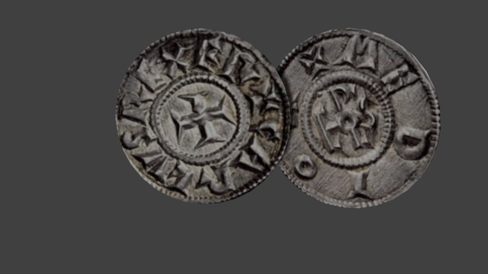 Old coins 3d model