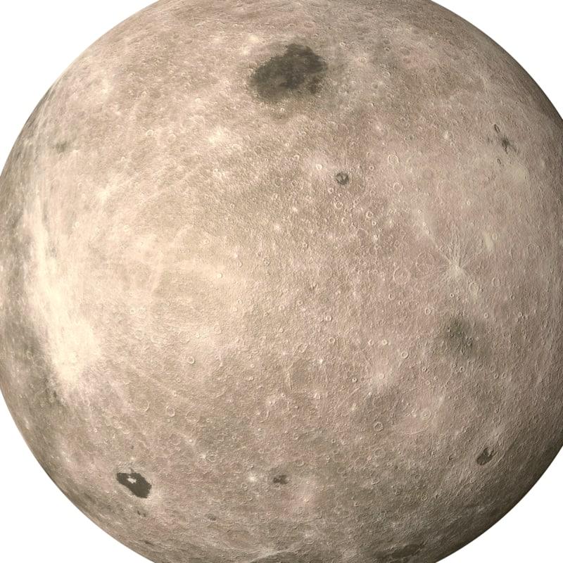 Moon 3D model