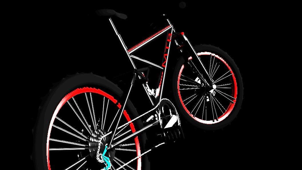 Mounting Bike MTB 3D model